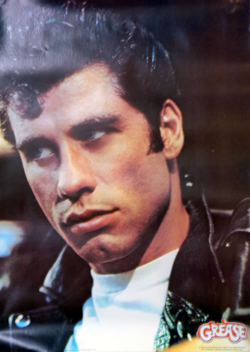 John Travolta Grease - Portrait US poster