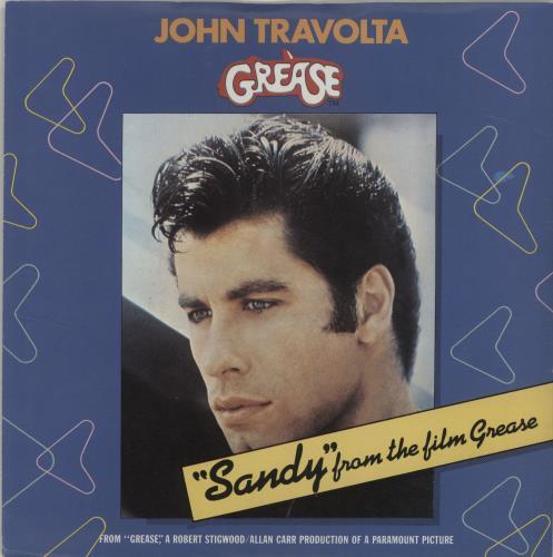 "John Travolta Sandy - Injection 7"" vinyl single (7 inch record) UK JTV07SA687100"