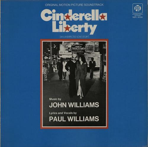 John Williams (Composer) Cinderella Liberty vinyl LP album (LP record) UK WIALPCI584525