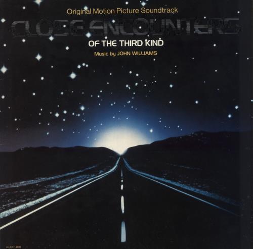 "John Williams (Composer) Close Encounters Of The Third Kind + 7"" vinyl LP album (LP record) UK WIALPCL633368"