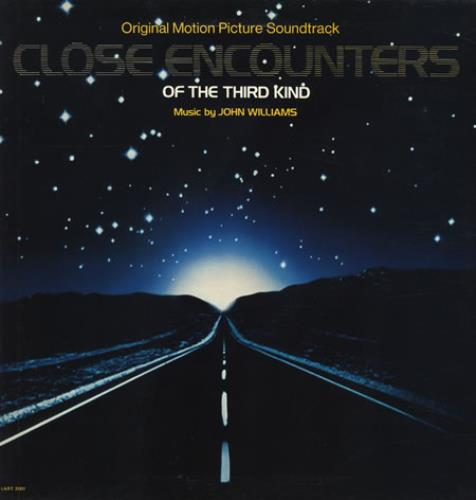 John Williams (Composer) Close Encounters Of The Third Kind vinyl LP album (LP record) UK WIALPCL309086