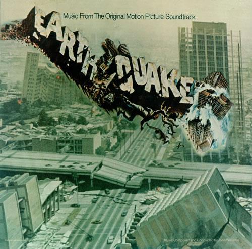 John Williams (Composer) Earthquake vinyl LP album (LP record) UK WIALPEA496868