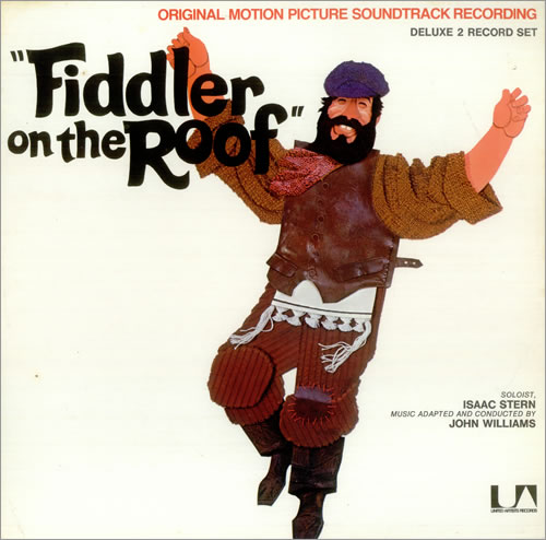 John Williams Composer Fiddler On The Roof Uk 2 Lp Vinyl Record