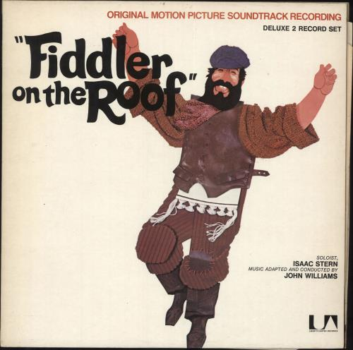 John Williams (Composer) Fiddler On The Roof 2-LP vinyl record set (Double Album) UK WIA2LFI729677