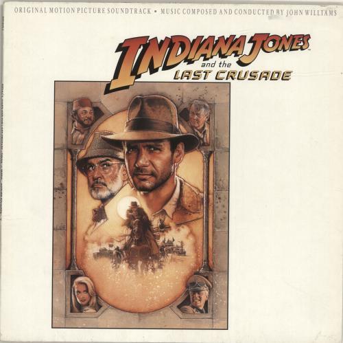 John Williams (Composer) Indiana Jones And The Last Crusade vinyl LP album (LP record) German WIALPIN692344