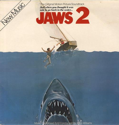 John Williams (Composer) Jaws 2 vinyl LP album (LP record) UK WIALPJA563420