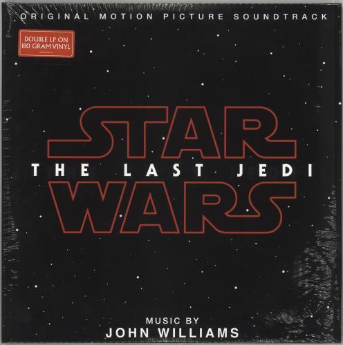 John Williams (Composer) Star Wars: The Last Jedi OST - 180gram Vinyl - Sealed 2-LP vinyl record set (Double Album) UK WIA2LST715909