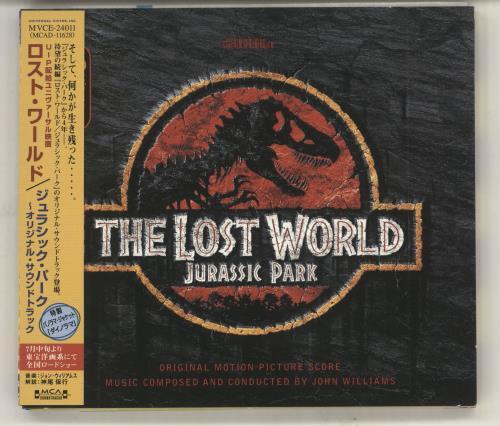 John Williams (Composer) The Lost World: Jurassic Park CD album (CDLP) Japanese WIACDTH729881
