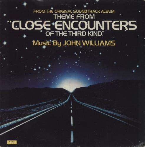 """John Williams (Composer) Theme From 'Close Encounters Of The Third Kind' - P/S 7"""" vinyl single (7 inch record) UK WIA07TH663846"""