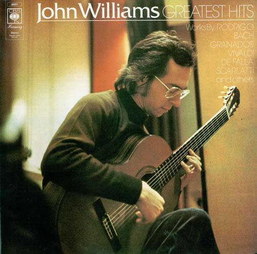 John Williams (Guitarist) Greatest Hits UK vinyl LP album (LP record)