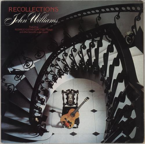 John Williams (Guitarist) Recollections vinyl LP album (LP record) UK WLALPRE711760