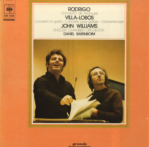 John Williams (Guitarist) Rodrigo: Concierto De Aranjuez / Villa-Lobos: Concerto For Guitar vinyl LP album (LP record) UK WLALPRO559044