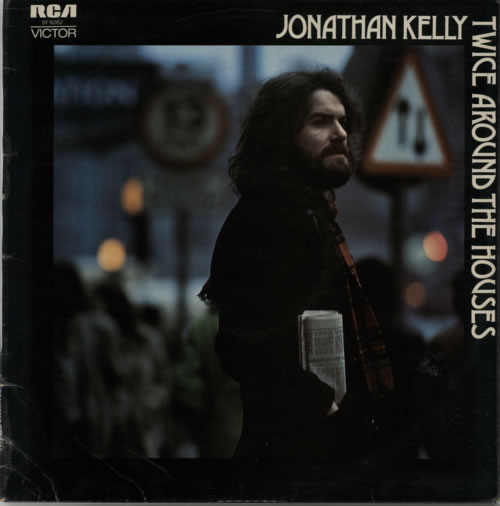 Jonathan Kelly Twice Around The Houses vinyl LP album (LP record) UK JWWLPTW498729