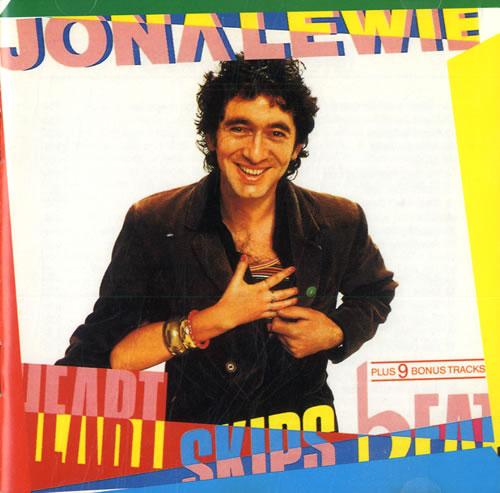 Jona Lewie Heart Skips Beat CD album (CDLP) UK JNLCDHE561432