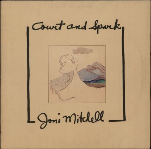 Joni Mitchell Court And Spark - EX vinyl LP album (LP record) UK JNILPCO587266