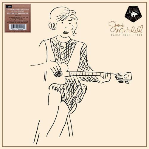 Joni Mitchell Early Joni - 1963  - 180 Gram - Sealed vinyl LP album (LP record) UK JNILPEA755316