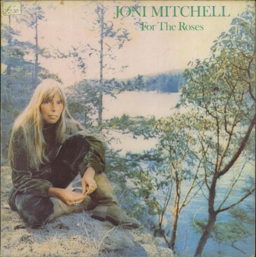 Joni Mitchell For The Roses - EX vinyl LP album (LP record) UK JNILPFO81030