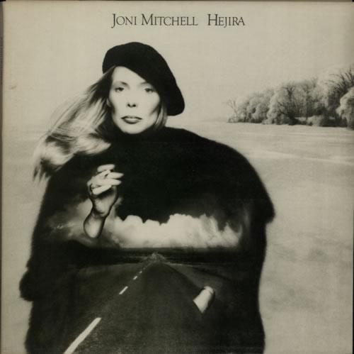Joni Mitchell Hejira vinyl LP album (LP record) UK JNILPHE618613