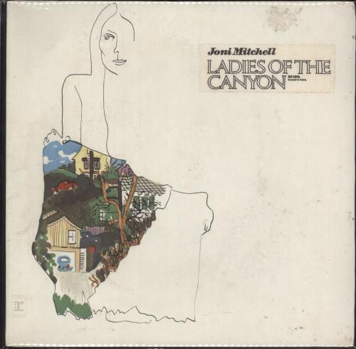 Joni Mitchell Ladies Of The Canyon - Sealed & Stickered vinyl LP album (LP record) US JNILPLA736122