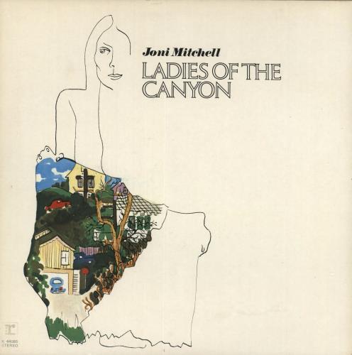 Joni Mitchell Ladies Of The Canyon vinyl LP album (LP record) UK JNILPLA718041