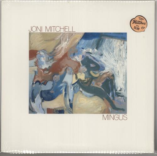 Joni Mitchell Mingus - Sealed vinyl LP album (LP record) US JNILPMI424100