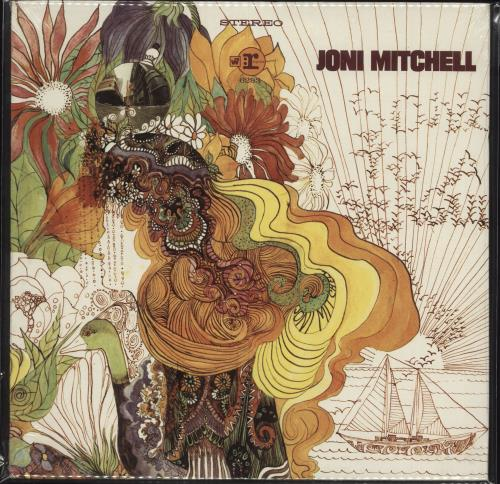 Joni Mitchell Song To A Seagull - Sealed vinyl LP album (LP record) US JNILPSO736112