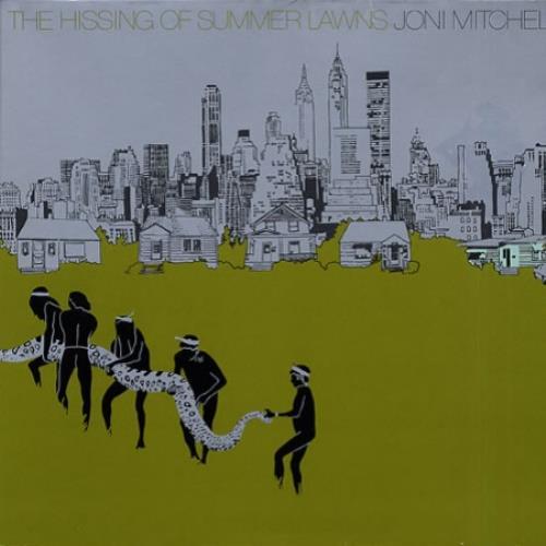Joni Mitchell The Hissing Of Summer Lawns - Gatefold vinyl LP album (LP record) German JNILPTH518818