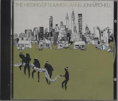 Joni Mitchell The Hissing Of Summer Lawns CD album (CDLP) German JNICDTH721383
