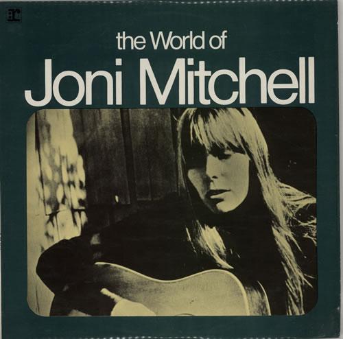 Joni Mitchell The World Of Joni Mitchell vinyl LP album (LP record) New Zealand JNILPTH620522