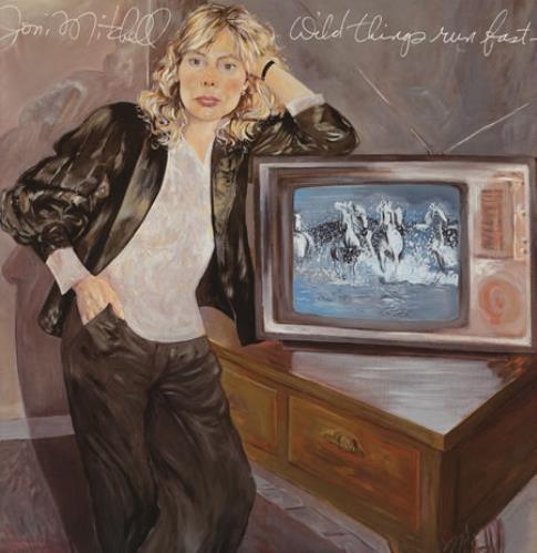 Joni Mitchell Wild Things Run Fast vinyl LP album (LP record) German JNILPWI361916