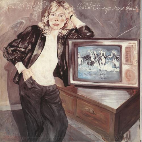 Joni Mitchell Wild Things Run Fast vinyl LP album (LP record) Greek JNILPWI744501