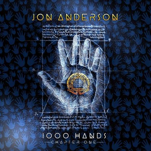 Jon Anderson 1000 Hands - Chapter One + Silkscreen Print 2-LP vinyl record set (Double Album) US JON2LHA761264