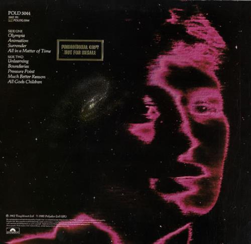Jon Anderson Animation vinyl LP album (LP record) UK JONLPAN245730