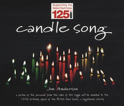 "Jon Anderson Candle Song CD single (CD5 / 5"") UK JONC5CA38881"
