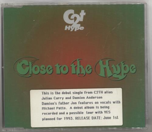 "Jon Anderson Close To The Hype CD single (CD5 / 5"") UK JONC5CL741111"