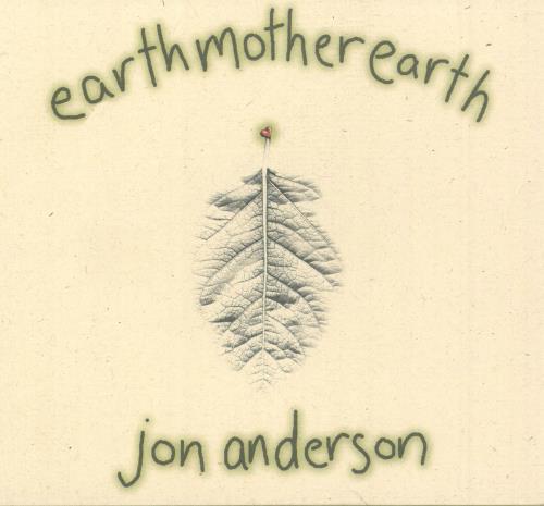 Jon Anderson Earthmotherearth + Slipcase CD album (CDLP) US JONCDEA748960
