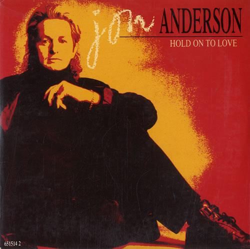 "Jon Anderson Hold On To Love CD single (CD5 / 5"") UK JONC5HO56703"
