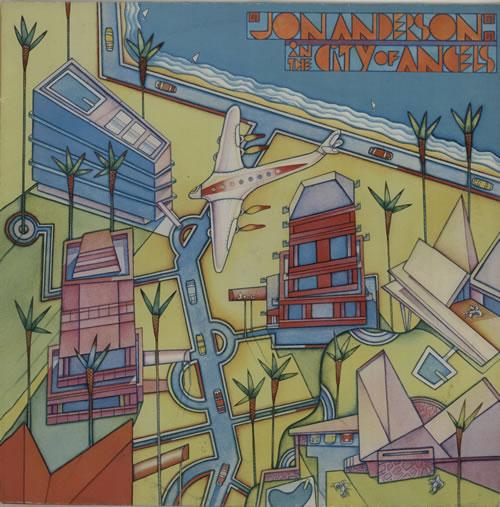 Jon Anderson In The City Of Angels vinyl LP album (LP record) UK JONLPIN576049