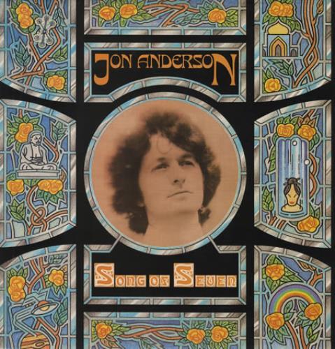 Jon Anderson Song Of Seven vinyl LP album (LP record) UK JONLPSO240769