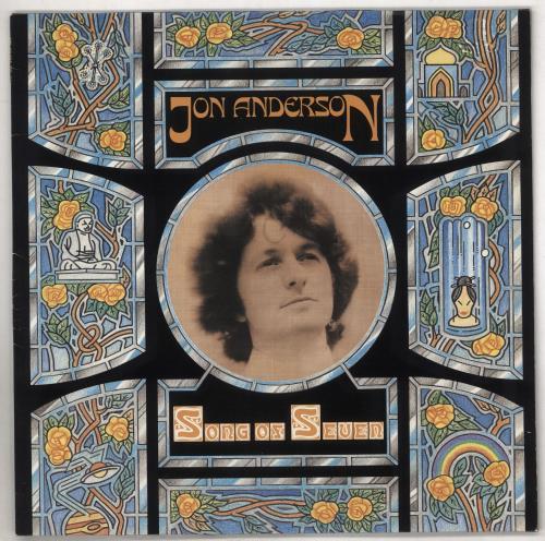 Jon Anderson Song Of Seven vinyl LP album (LP record) German JONLPSO316575