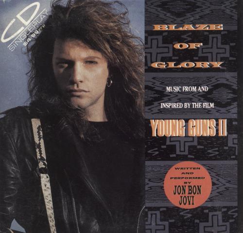 "Jon Bon Jovi Blaze Of Glory CD single (CD5 / 5"") Australian JBJC5BL738288"
