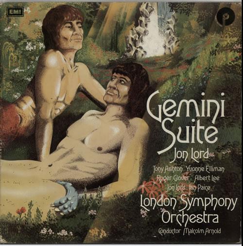 Jon Lord Gemini Suite - VG+ vinyl LP album (LP record) UK JLDLPGE633754