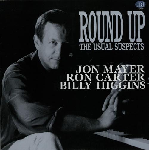 Jon Mayer Round Up The Usual Suspects vinyl LP album (LP record) Japanese JZXLPRO568039