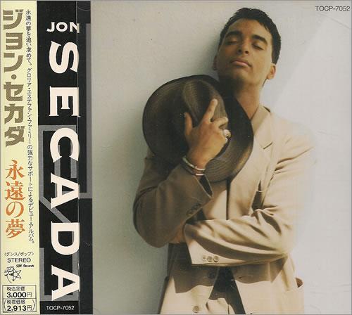 Jon Secada Jon Secada CD album (CDLP) Japanese SECCDJO487939
