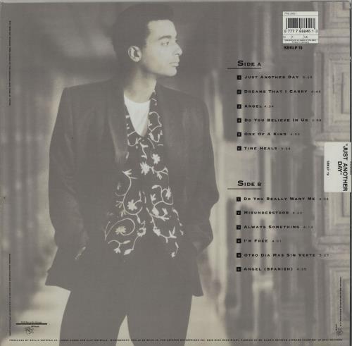 Jon Secada Jon Secada vinyl LP album (LP record) UK SECLPJO611401