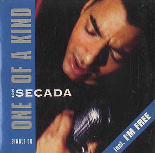 "Jon Secada One Of A Kind CD single (CD5 / 5"") Dutch SECC5ON626546"