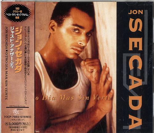 Jon Secada Otro Dia Mas Sin Verte CD album (CDLP) Japanese SECCDOT611147