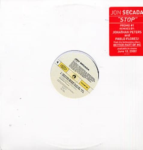 """Jon Secada Stop Remixes Quadpack 12"""" vinyl single (12 inch record / Maxi-single) US SEC12ST270339"""