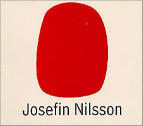 "Josefin Nilsson Shapes sampler CD single (CD5 / 5"") Swedish JSFC5SH202573"