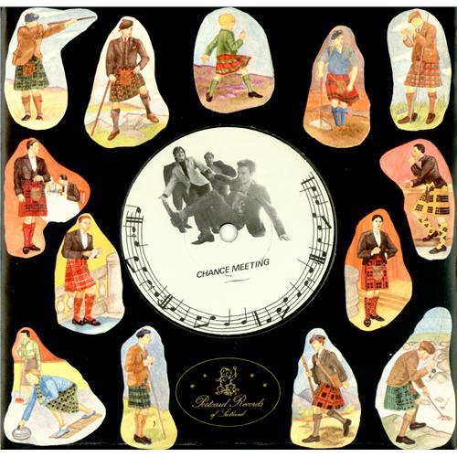 "Josef K Chance Meeting + Postcard 7"" vinyl single (7 inch record) UK JOS07CH414083"
